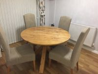 Next Hudson Kitchen/Dining Table and 4 Sienna Chairs | in ...