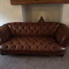 Sofa Collection Charity Leicester La Z Boy Corner Reviews Tetrad Oskar Large 3 Seater Chesterfield In