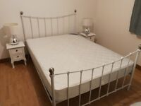 Stylish Double Bed Mattress Included