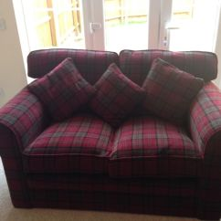 Tartan Chesterfield Sofa The Best Bed In World Ebay Neutral Red Decor Pinterest