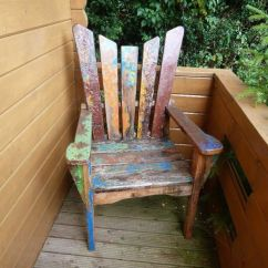 Unusual Garden Chair Skirted Dining Room Chairs Wooden In Denmead Hampshire Gumtree