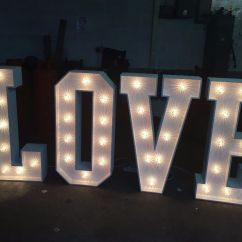 Chair Cover Decorations For Wedding Best Back Pain Love Letters Hire- £99 (giant Letters) | In Coventry, West Midlands Gumtree