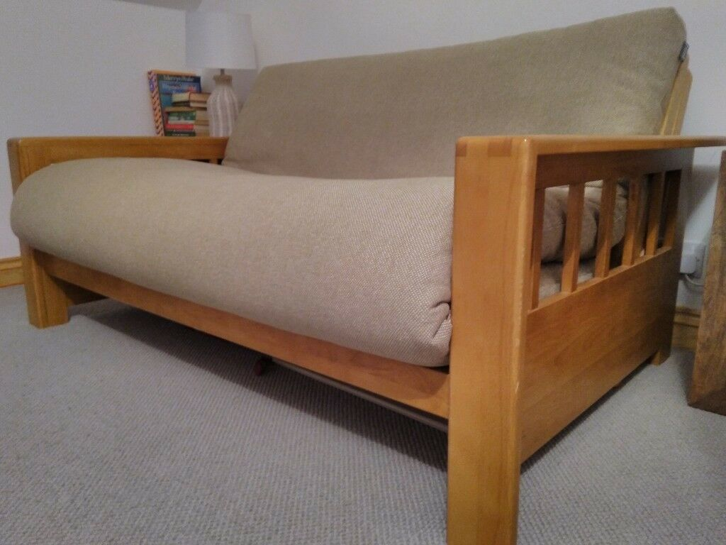 oak furniture sofa beds fixing sagging cushions futon company bed in exeter devon gumtree