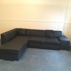 Corner Sofa Bed East London Specials Johannesburg Faux Leather Suite With Storage And Pull Out Double In