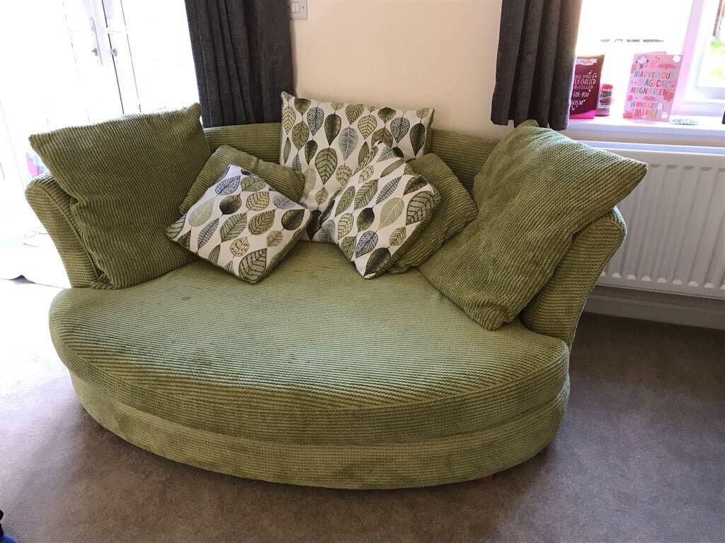 dfs corner sofa grey fabric ashley red microfiber snuggle sophia in west end hampshire ...