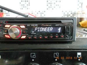 PIONEER MOSFET 50WX4 RADIO, AUX PORT, CD PLAYER, MP3 WMA