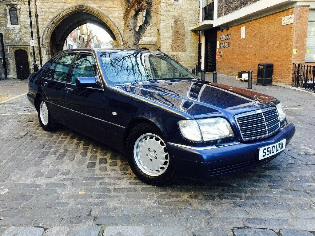 1999 S Reg Mercedes Benz W140 S320 Fully Loaded Excellent