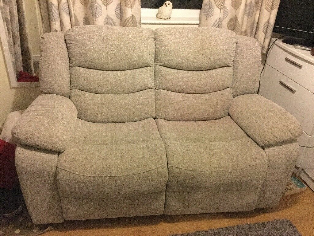 grayson sofa bed recliners with cup holders mid century curved wood arm by