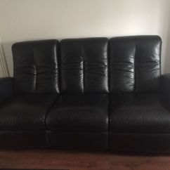 Black Leather Sofas On Gumtree Sofa Seat Foam Online India 3 Seater And 2 In Aberdeenshire