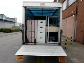 council sofa collection cardiff black and grey corner cheap waste removal rubbish students house flat office storage long distance international man van realiable removals