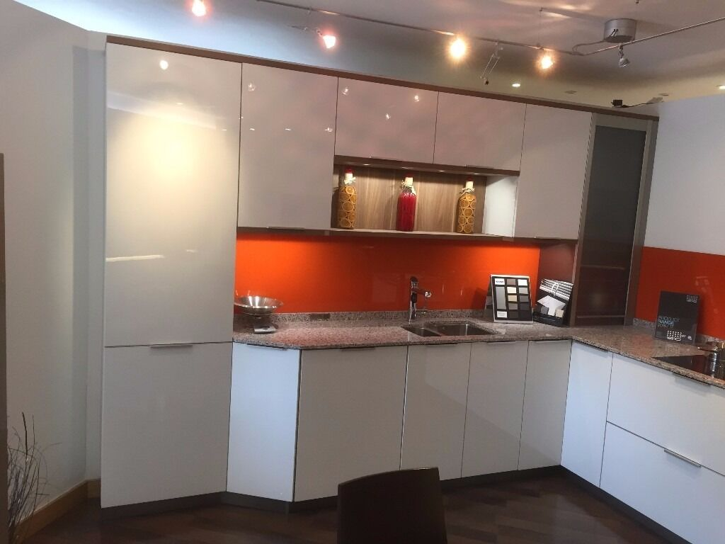 kitchen displays for sale granite countertops cost ex display high gloss leicht in
