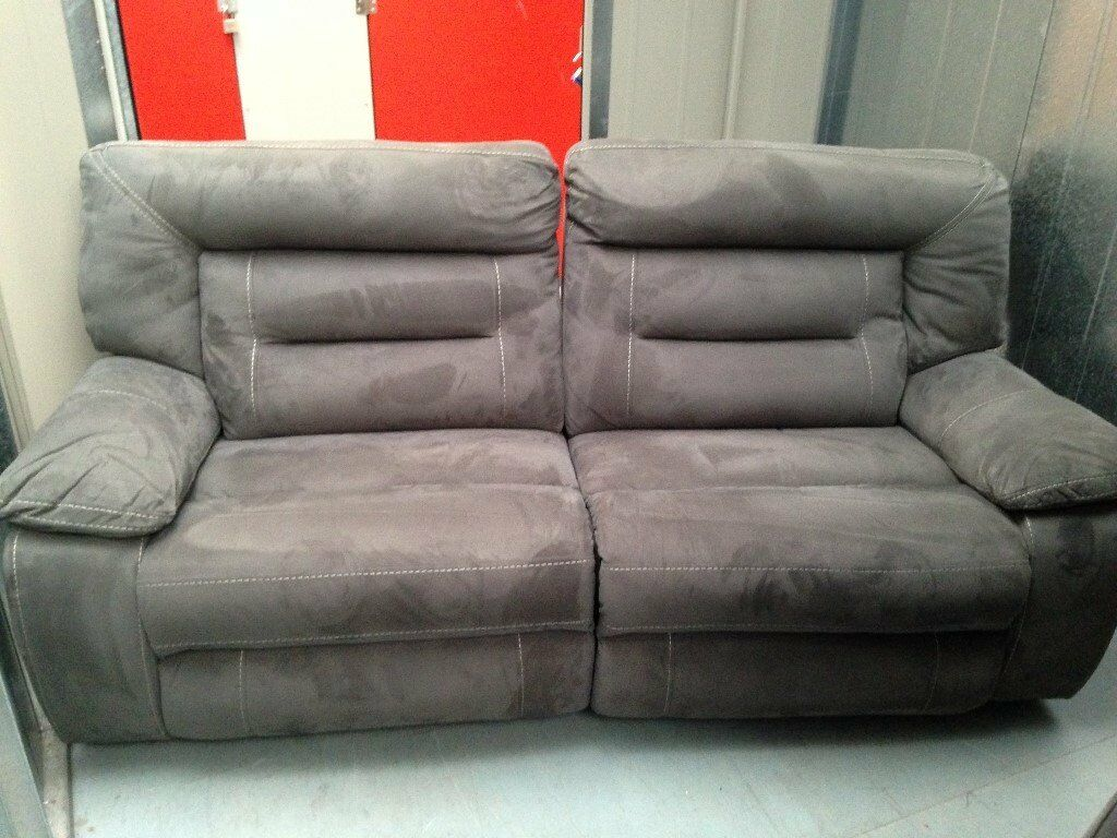 two seater recliner sofa gumtree what color coffee table with brown leather kinman 3 and 2 in bath somerset