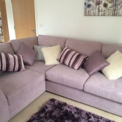 Dfs Sofas That Come Apart Corner Sofa Set Images Lilac Fab Condition In Belper