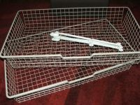 2 x IKEA KOMPLEMENT WIRE DRAWERS / BASKETS for PAX ...