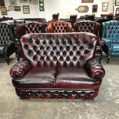 High Back Chesterfield Sofa Best Foam Cushions Very Nice Thomas Lloyd 2 Seater