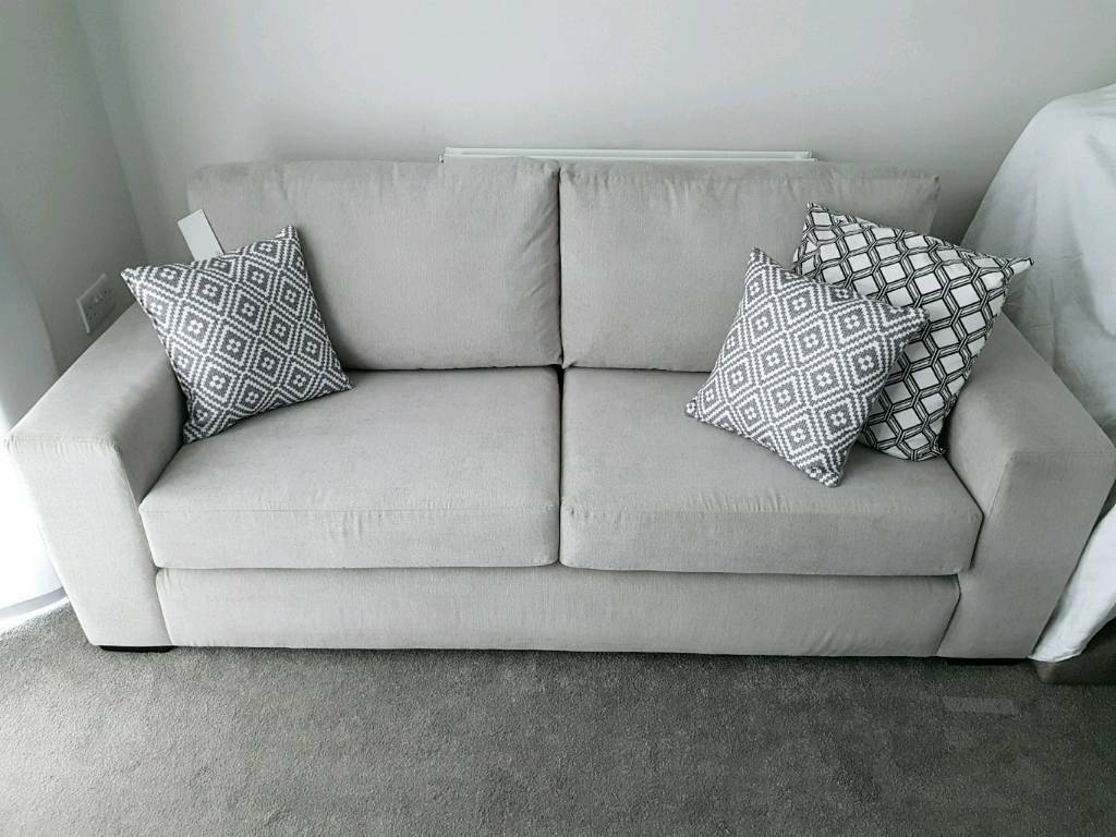 living rooms with light grey couches home decor for room walls sofa three seater in couch furniture rrp 599