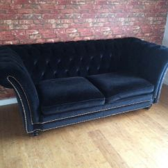 Leather Sofas Dfs Extra Large Sofa Sectionals Black Velvet Chesterfield - Laurence Llewelyn Bowen ...