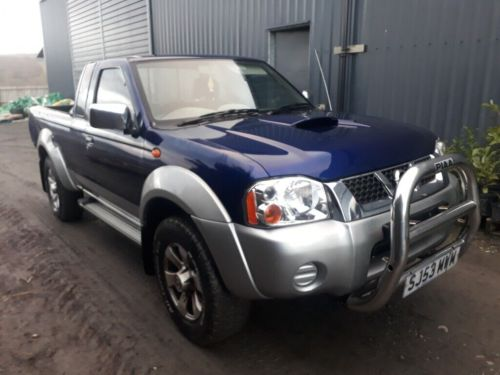 small resolution of breaking blue 2004 nissan navara kingcab yd25 manual 4x4 parts spares good engine alloys
