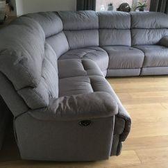 Recliner Chairs Gumtree Ergonomic Chair Nsn Furniture Village Cupola Power Corner Sofa In