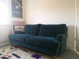 bluebell sofa gumtree fabric sofas and couches two seater in dalston london sofacom