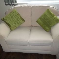 Corner Sofa With Removable Washable Covers Replacement Cushions Dfs Off White Cream 3 2 Seater Settees