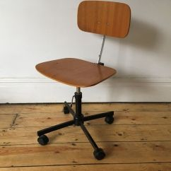 Herman Miller Rolling Office Chair Rustic Pub Table And Chairs Vintage Rabami Stole Kevi Desk Danish