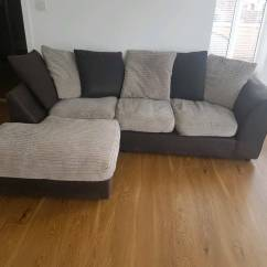 Corner Sofas Glasgow Gumtree L Shaped Sofa Designs For Living Room In India Free Local Delivery Brown And Cream