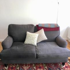 Bluebell Sofa Gumtree White Slipcovered Blog Quick Sale Com 2 Seater In Charcoal Brushed Linen