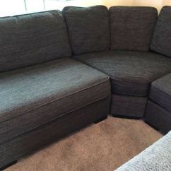 Large Dark Grey Corner Sofa Buying A Online Blue Furniture Village Original Price 3000
