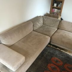 Corner Sofas Glasgow Gumtree Genuine Leather Sectional Sleeper Sofa Grey Suede From Habitat In Hyndland