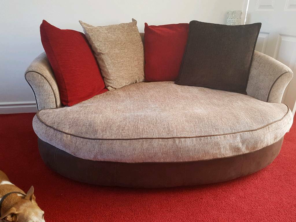 oval sofa central park 2 piece and loveseat in mocha 3 seater hartlepool county durham