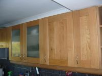 Good quality B&Q Solid Oak Kitchen Doors and Drawer Fronts