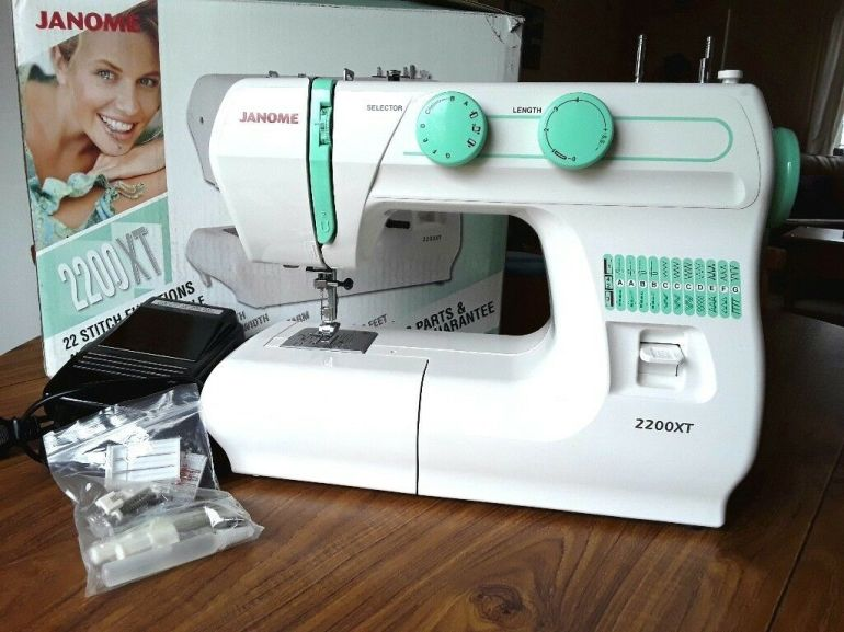 Image result for janome 2200xt stitches