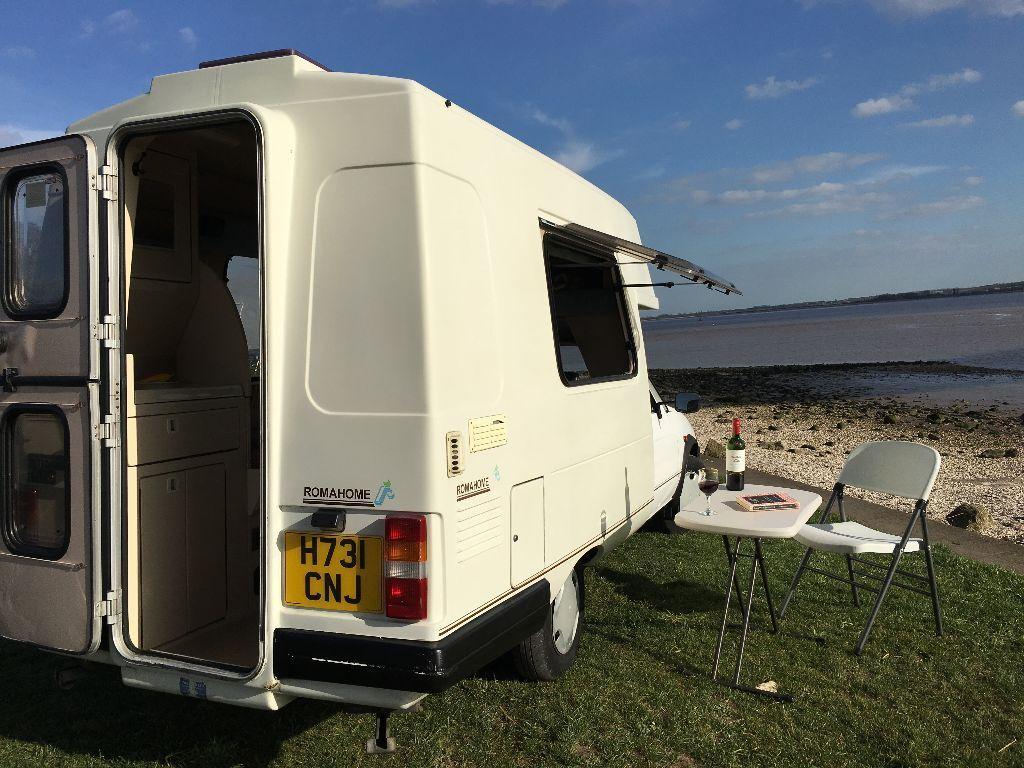 Camper Stunning Economical Easy To Drive Campervan King