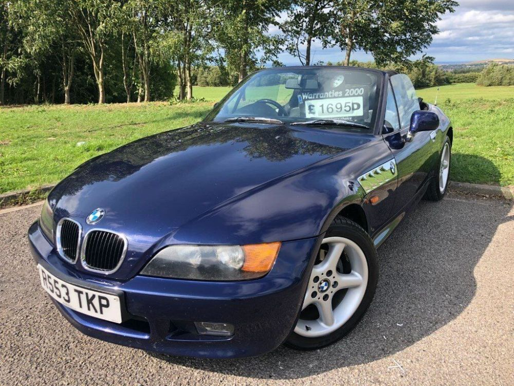 medium resolution of 1997 r bmw z3 1 9 convertible january 2020 m o t full leather interior