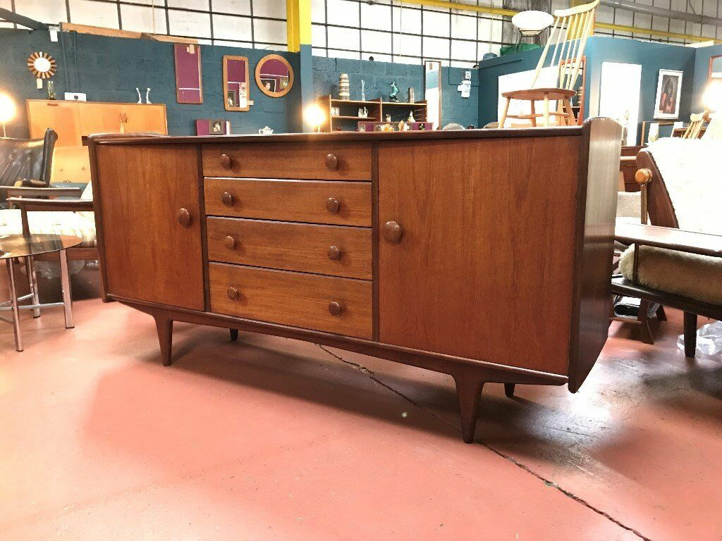 sofa manufacturers glasgow metal table with gl top sideboard by a younger ltd retro vintage mid