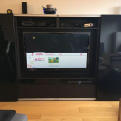 Sofa London Gumtree Henredon Leather Wingback Ikea BestÅ Tv Unit And Storage With Sliding Doors | In ...