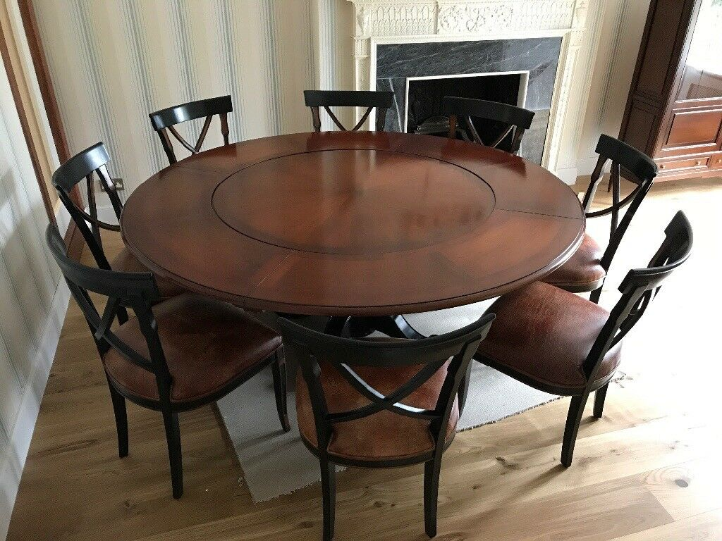 revolving chair gumtree wholesale lycra covers australia further price reduction large round dining table and 8