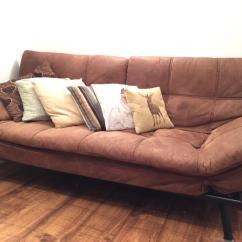 Chez Long Sofa Bed Violino Leather Reviews Faux Suede Double Setee Multi Adjustable Excellent