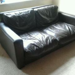 Two Seater Recliner Sofa Gumtree Kmart Sleeper Large Genuine Leather In Barnsley South