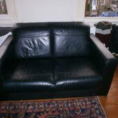 Sofa London Gumtree Scs Sofas And Armchairs Two Seater Black Leather 20 Ono In Teddington