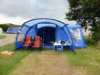 Vango Langley 600 tent, footprint, carpet and side awning ...