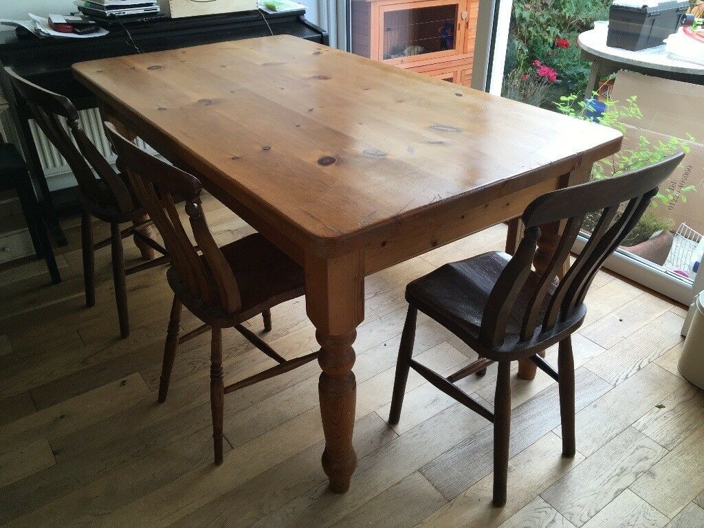 pine kitchen table marble counters dining with cutlery drawer in cheltenham