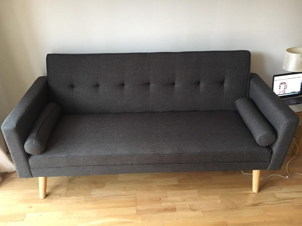 danish style sofa bed uk vintage chesterfield sleeper scandinavian for sale in hackney