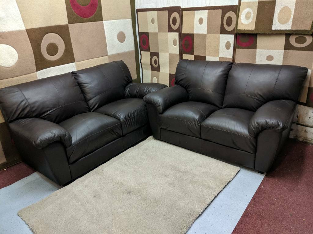 sofa london gumtree sage green throws brown leather 3 and 2 seater smart sofas in barking