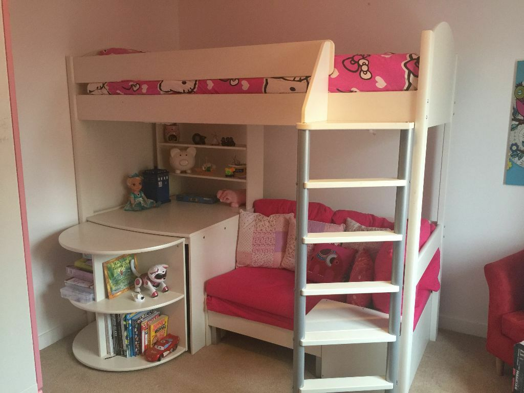 sleeper sofa assembly instructions over wall ideas sold - stompa casa 4 high loft bed -- | in ...
