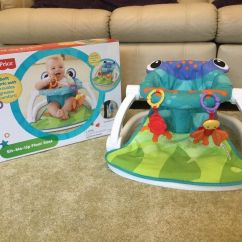 Fisher Price Sit And Play Chair High Table Chairs Outdoor Rainforest Me Up Floor Seat Frog Compact