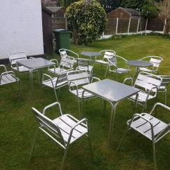 Cast Iron Table And Chairs Gumtree Desk Chair With Footrest Bistro In Hazel Grove Manchester