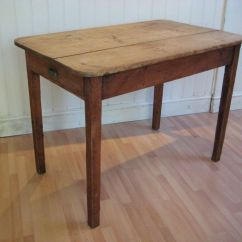 Pine Kitchen Table Tables Art Van Beautiful Antique Rustic Victorian Solid With Cutlery Drawer 106 5 Cm X 66