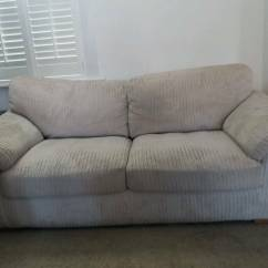 Cheap Three Seater Sofa Modern Leather And Chrome Chairs In Forest Gate London Gumtree